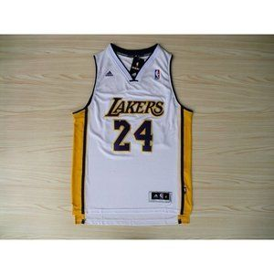 Los Angeles Lakers #24 Kobe Bryant White  Jersey